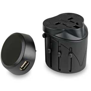 LIFEVENTURE USB TRAVEL ADAPTOR